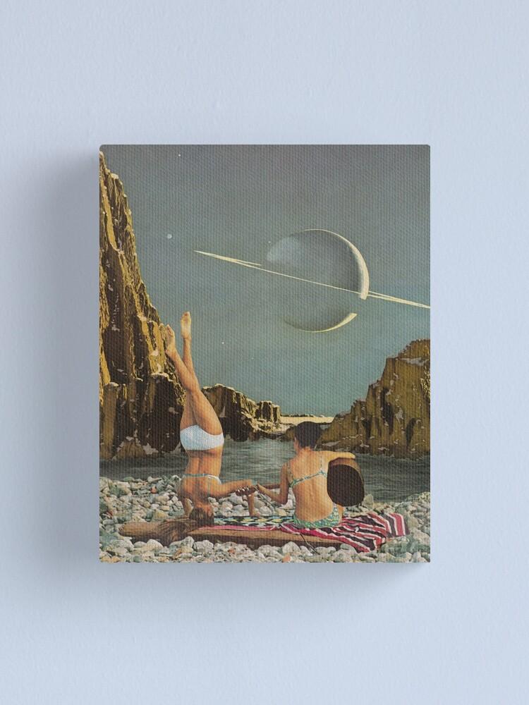 Alternate view of Serenade to Saturn Canvas Print