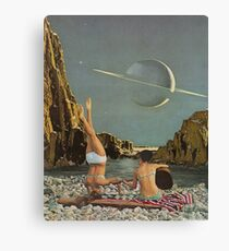 Serenade to Saturn Canvas Print