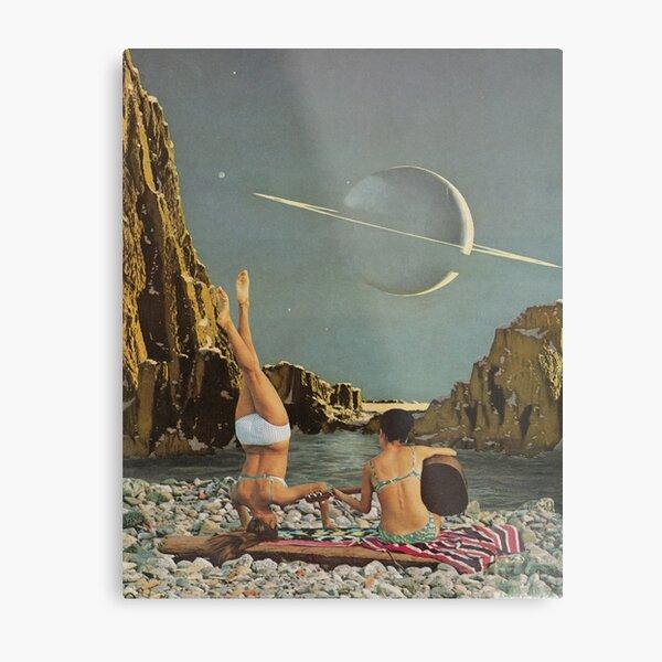 Serenade to Saturn Metal Print