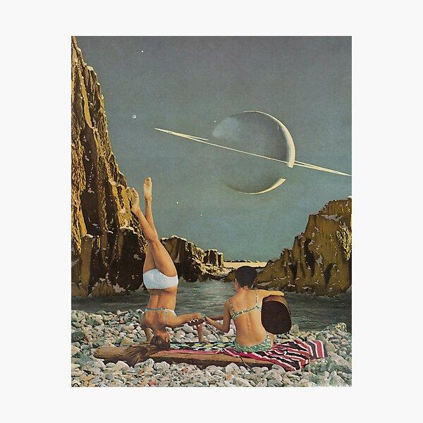 Serenade to Saturn Photographic Print