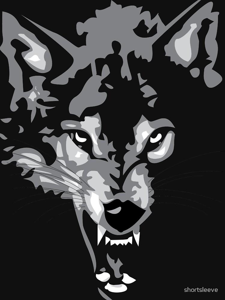 Shadow Wolf by shortsleeve