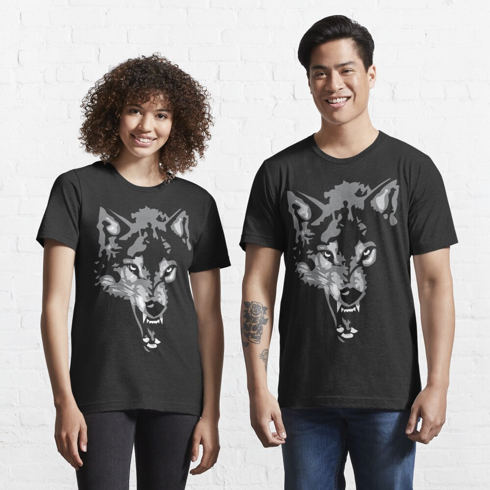Shadow Wolf Essential T-Shirt