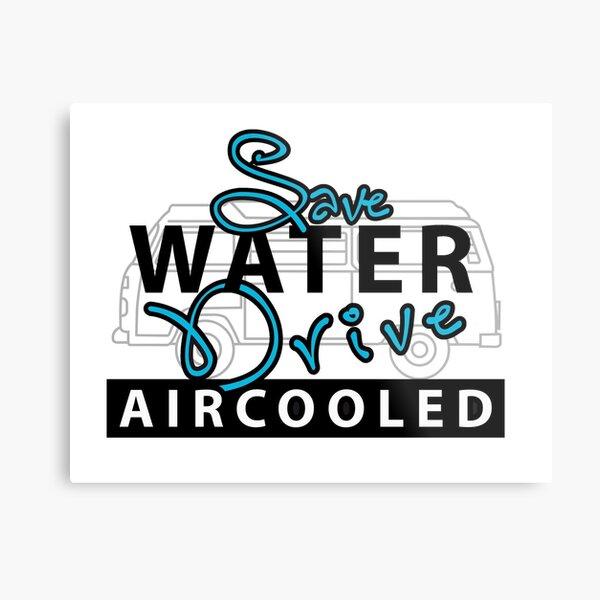save water Metal Print