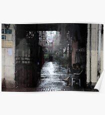 Beijing Alley Poster