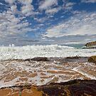 Warriewood beach NSW Australia by Doug Cliff