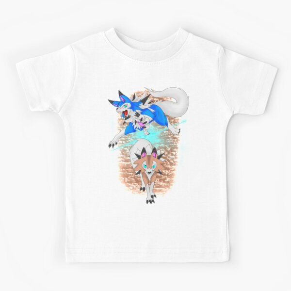 Midday Lycanroc Kids T-Shirt