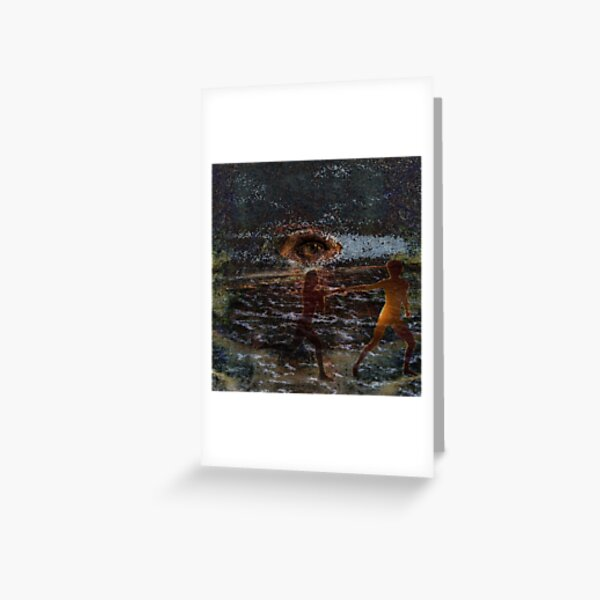 Ethereal Guide Greeting Card