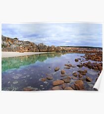 Stokes bay Reflections  Poster