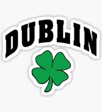 Irish Dublin Sticker