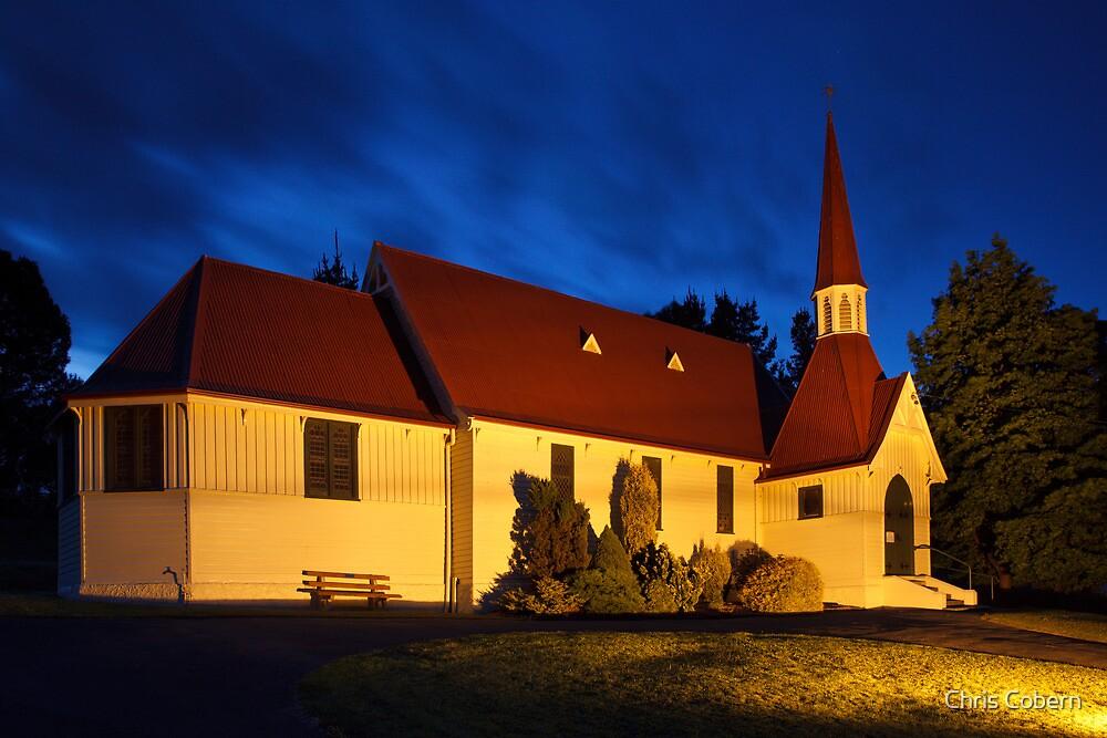 St Mark's Anglican Church, Cygnet Tasmania. by Chris Cobern