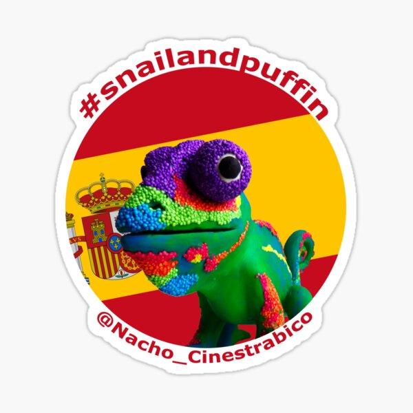 @Nacho_Cinestrabico goes patriotic with Spanish flag 1 Sticker