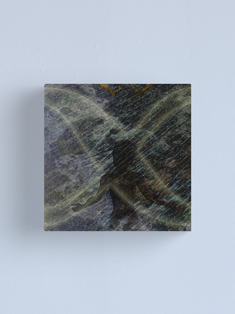Alternate view of Twist of Shadow Canvas Print