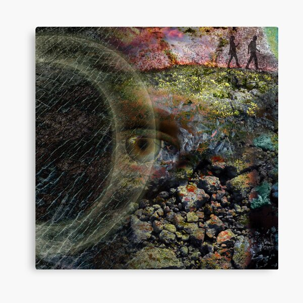 Eye of Content Canvas Print