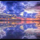 Sunset @ Snowy River Estuary Marlo Vc. by helmutk