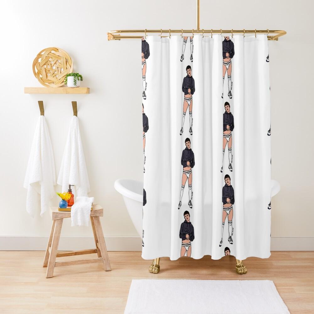 Sneaking a Peak Shower Curtain