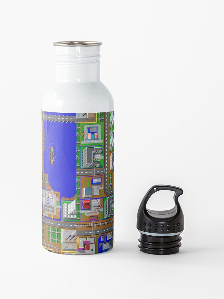 Alternate view of SimCity 1 No logo Sim City Zoom - HD Water Bottle