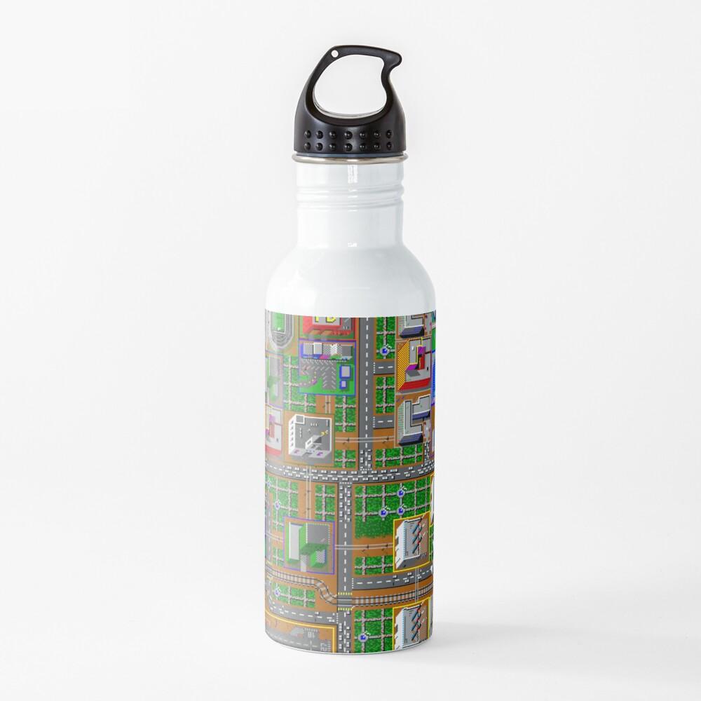 SimCity 1 No logo Sim City Zoom - HD Water Bottle
