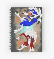 Pokemon Ultra Moon Spiral Notebooks Redbubble