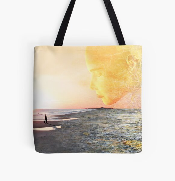 The Part of Me Hidden Away All Over Print Tote Bag
