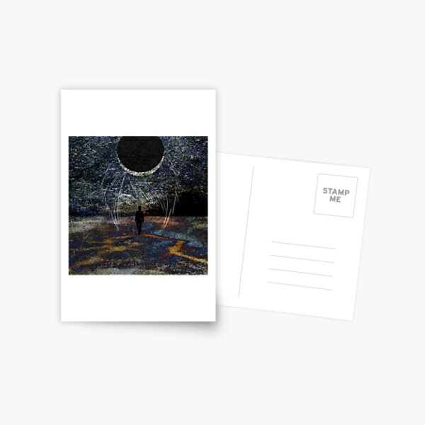 State of Dreams (Waxing Crescent) Postcard