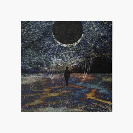State of Dreams (Waxing Crescent) Art Board Print