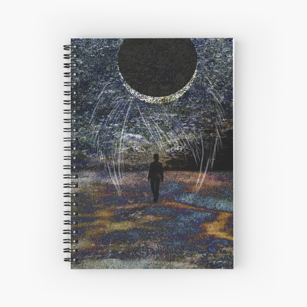 State of Dreams (Waxing Crescent) Spiral Notebook