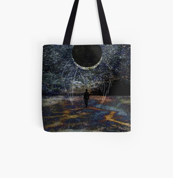 State of Dreams (Waxing Crescent) All Over Print Tote Bag