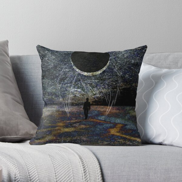 State of Dreams (Waxing Crescent) Throw Pillow