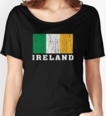 Ireland Flag Women's Relaxed Fit T-Shirt