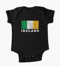 Ireland Flag One Piece - Short Sleeve