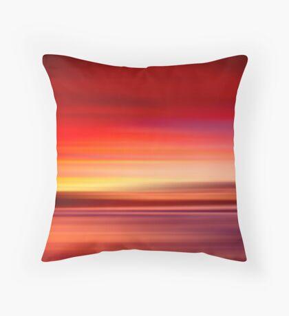 Rebounds Beach Tasmania Throw Pillow