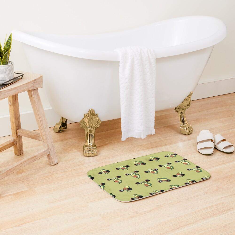 OLYMPIC LIFTING Avocado Bath Mat