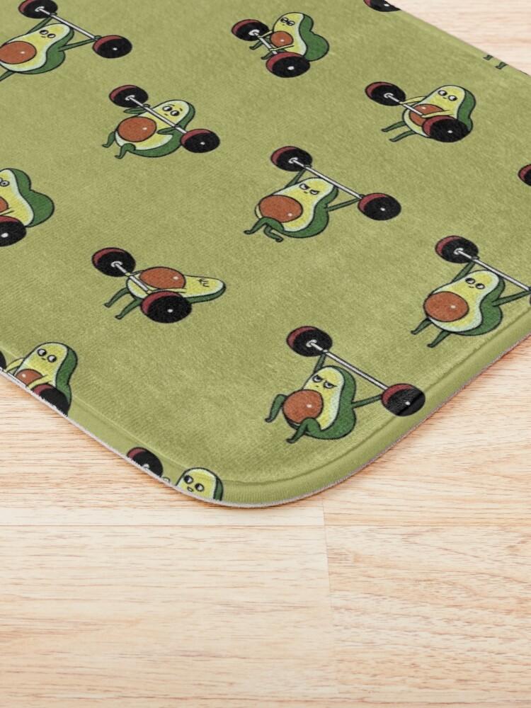 Alternate view of OLYMPIC LIFTING Avocado Bath Mat