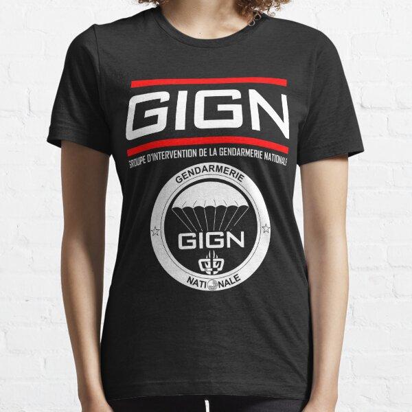 Groupe d'intervention de la gendarmerie nationale du GIGN T-shirt essentiel