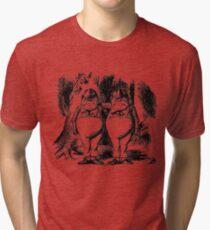Tweedledum & Tweedledee Tri-blend T-Shirt