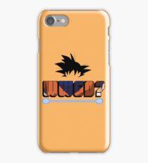 What would Goku do? iPhone Case/Skin