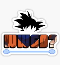 What would Goku do? Sticker