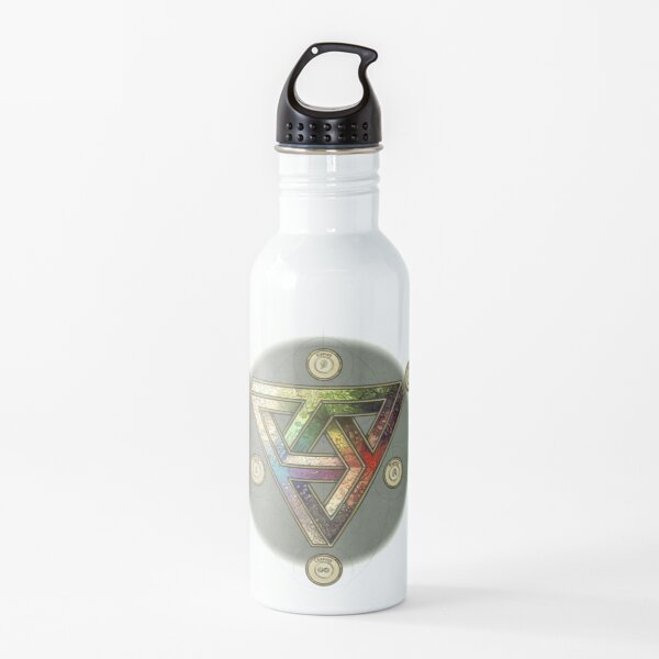 The Impossible Triangle (magic system) - Pepper&Carrot offficial Water Bottle