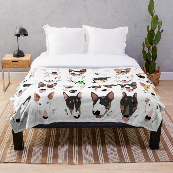 Glasgow Bull Terrier Club Throw Blanket