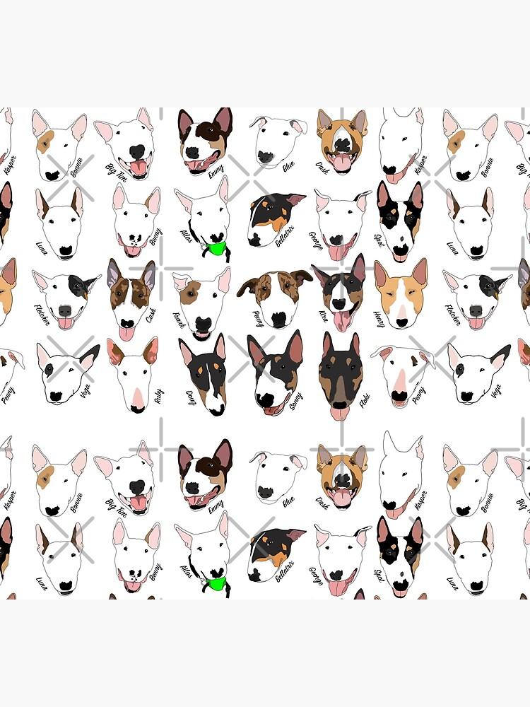 Glasgow Bull Terrier Club by emilydevineart