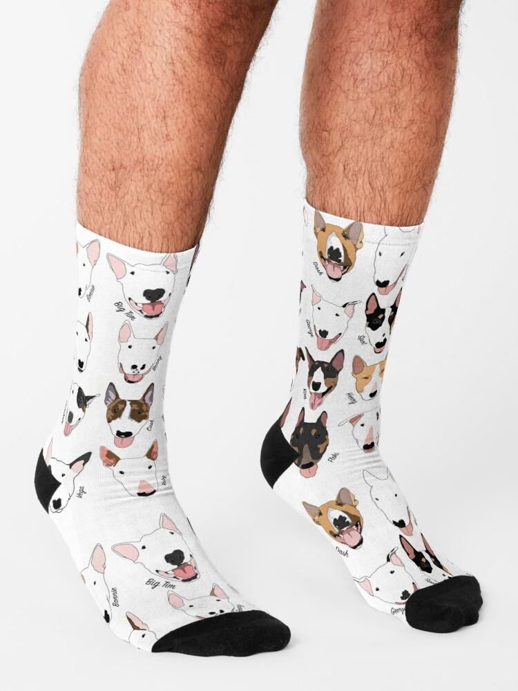 Alternate view of Glasgow Bull Terrier Club Socks