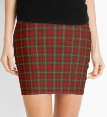 00047 Morrison Clan Tartan Mini Skirt
