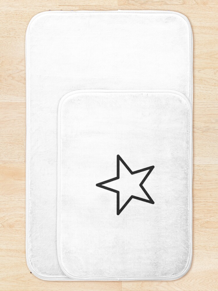 Alternate view of Star shape Bath Mat