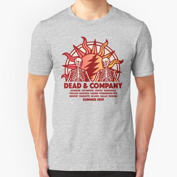 dead & summer world tour 2019 cahpeko Slim Fit T-Shirt