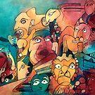 Gargoyle Party by Tamsin Haggis