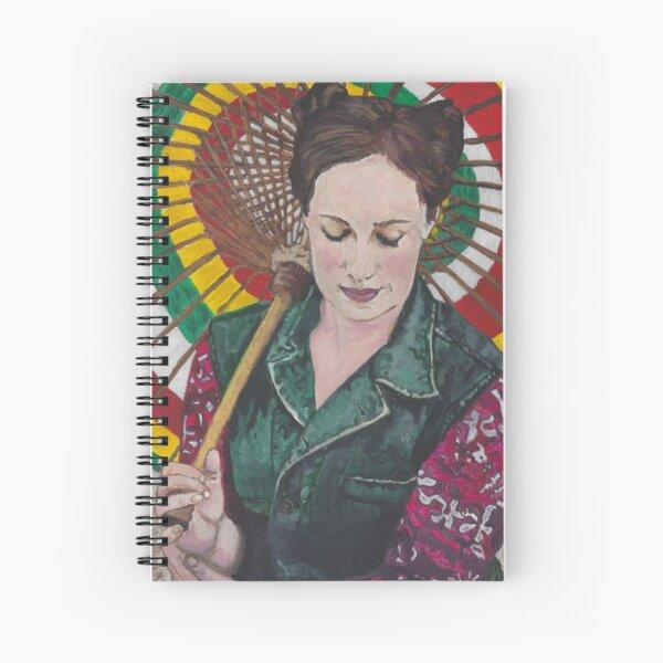 InevitableBetrayal Cosplay as Kaylee in Firefly Spiral Notebook
