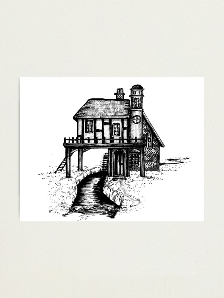 Alternate view of House with a View - Wall Art Photographic Print