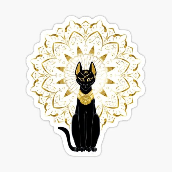 Bastet egyptian goddess  Sticker