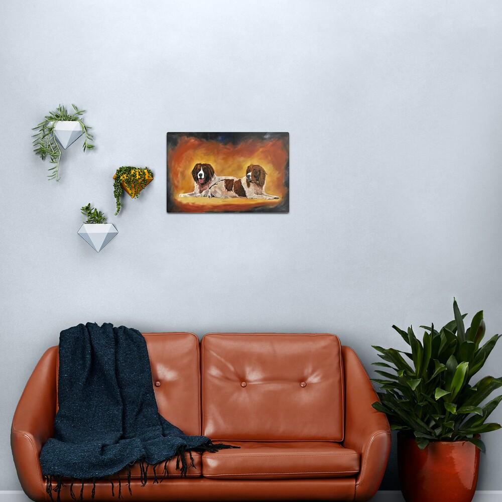 Spaniel Friends - Wall Art Metal Print