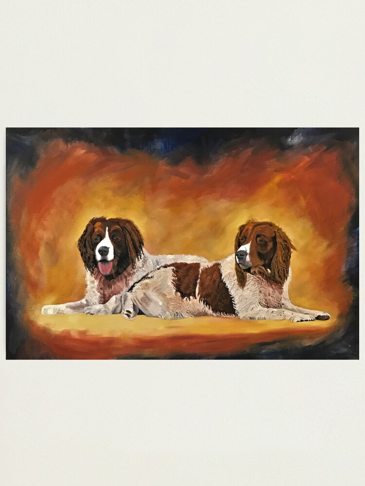 Alternate view of Spaniel Friends - Wall Art Photographic Print